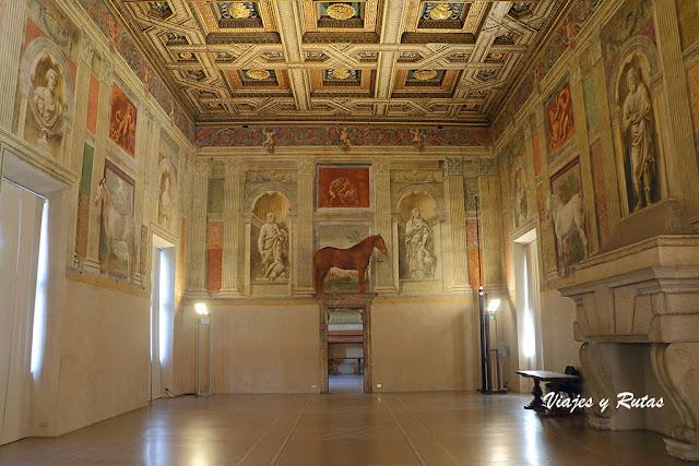 Sala dei Cavalli, palazzo di Te, Mantua