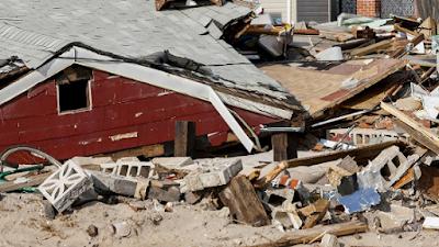 Vitimas de terremoto no Caribe
