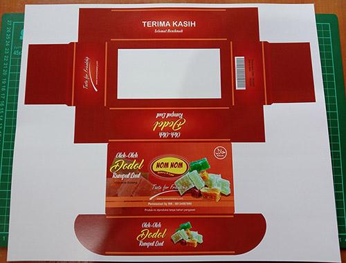 Desain Kemasan Makanan Simple Tanpa Lem - TUTORiduan.com