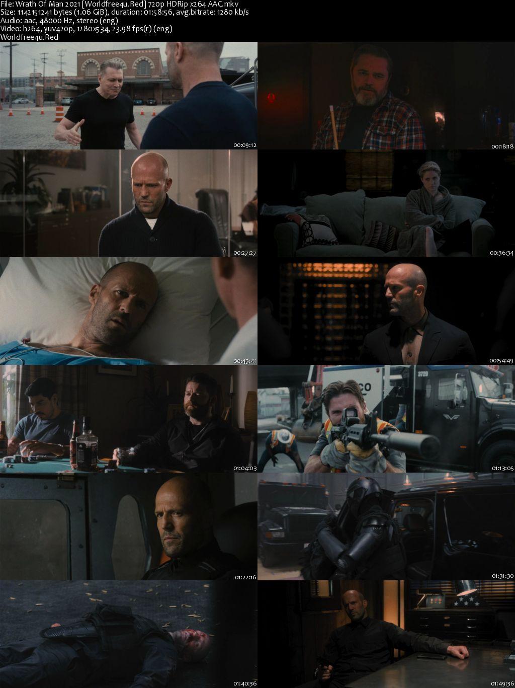 Wrath Of Man 2021 English HDRip 720p