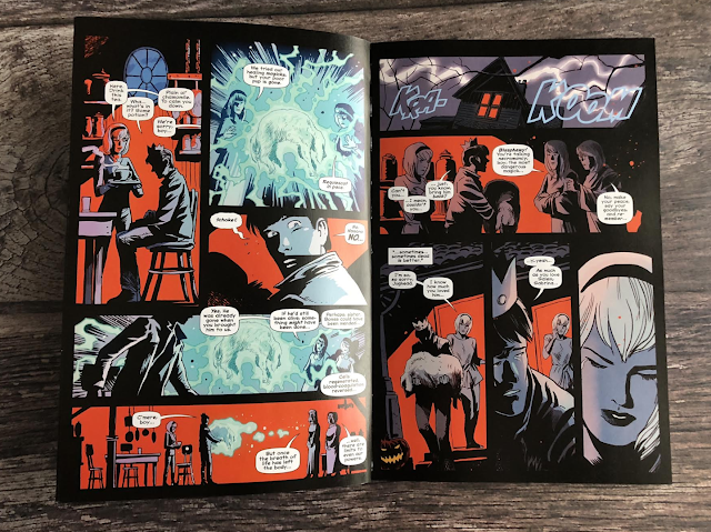 a page from the Afterlife with Archie volume 1