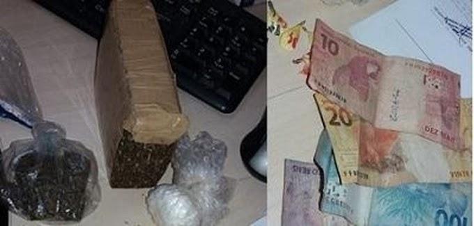 Polícia prende dois homens por tráfico de drogas em Moraes de Almeida