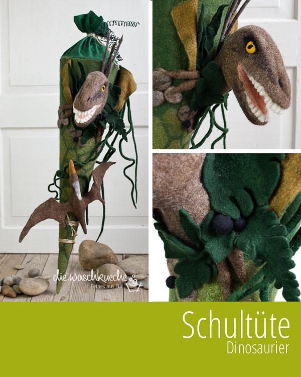 diewaschkueche schultüte dinosaurier  ein kind der liebe