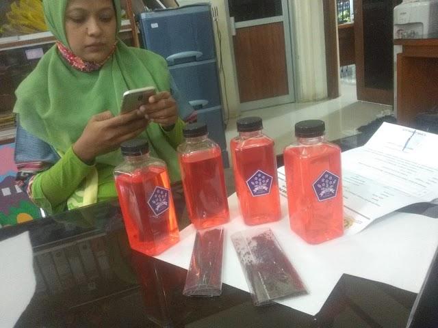 Terima kasih Banyak Dharmawanita Persatuan Kota Surabaya Bantuan Bibit Sawi, Kangkung, dan Sabun Cuci Tangan