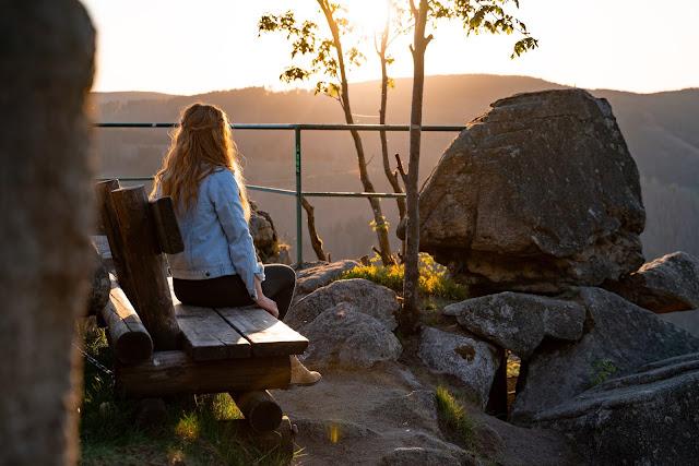 Kästeklippentour und Sonnenuntergang im Harz | Wandern in Bad Harzburg 15