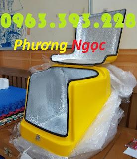 Thùng chở rác y tế, thùng vận chuyển chất thải y tế, thùng chở rác thải nguy hại TCCTYT4