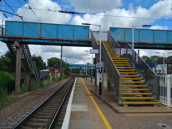 Brookmans Park station - November 2019  Image by North Mymms News released via Creative Commons BY-NC-SA 4.0