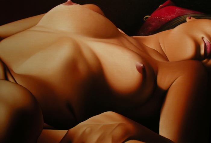 Ricardo Casal. Женщины в работах художника 21