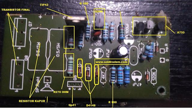 Cara Memperbaiki Ampli Ocl 150 Watt Rusak