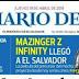 El Salvador y Guatemala: Mazinger z Infinity llega a cines 19 de abril 2018.