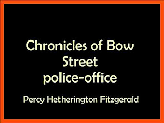 Chronicles of Bow Street police office