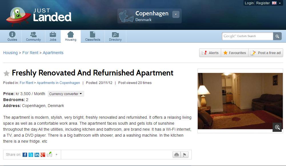 Olx Apartment For Rent
