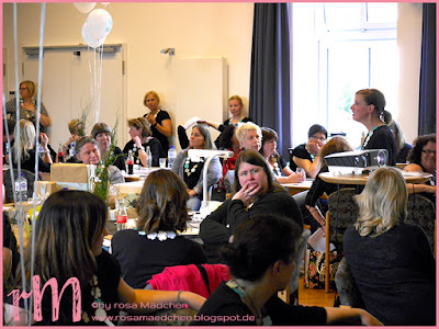 """Stampin' Up! rosa Mädchen Kulmbach: Teamtreffen """"Paulines Papier"""" bei Jenni Pauli in Gladbeck"""