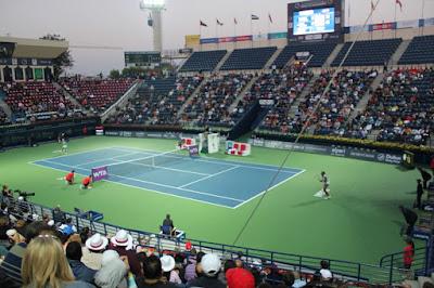 أبعاد ملاعب التنس وأنواع الأرضيات