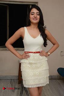 Actress Ruksaar Mir Pictures in Short Dress at Showtime Movie Logo Launch  0021.JPG