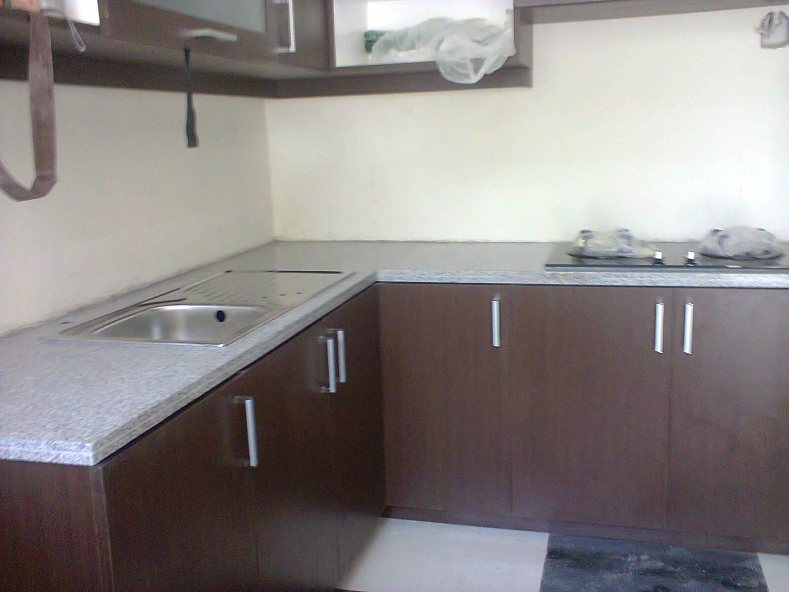 Pasang Meja Kitchen Set Granit Di Kelapa Gading