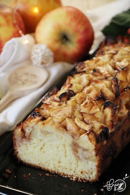 Cake Citron Pommes Cranberry Recette Dessert Gâteau au Yaourt