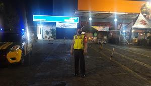 Cegah Gangguan Kamtibmas Malam Polsek Cileunyi Polresta Bandung Gencar Berpatroli