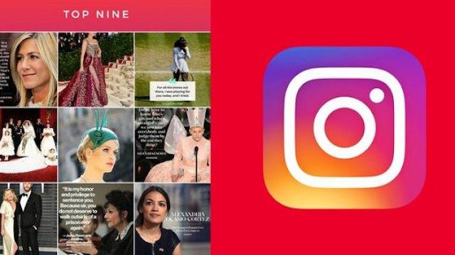 Cara Membuat Best Nine di Instagram