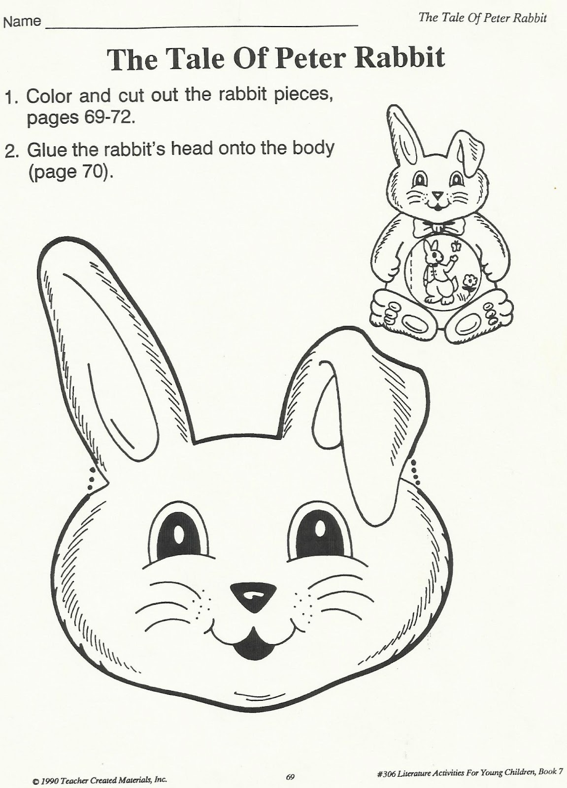 Squish Preschool Ideas Tale Of Peter Rabbit