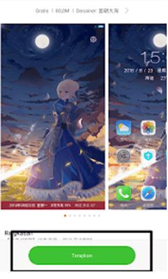 Cara Install Tema Anime Xiaomi (Lengkap dengan Gambar)