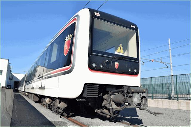 I treni della Metro C