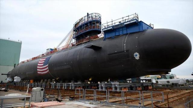China roba a EEUU datos 'altamente sensibles' de guerra submarina