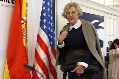 Carmena, Ahora Madrid, declaración, bienes, comunismo