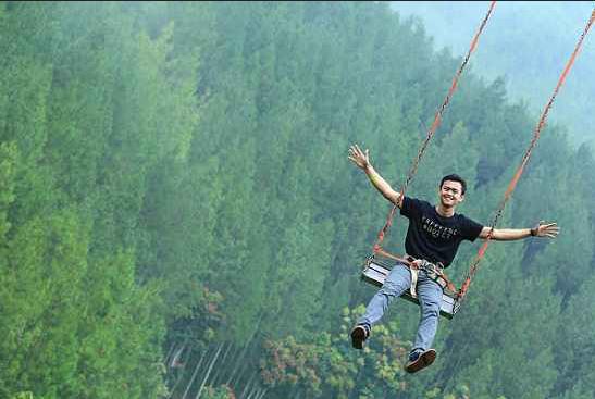 Sky Swing Maribaya