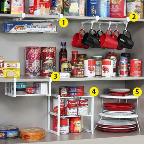 14 Genius Hacks For A Perfectly Organized Refrigerator: DIY Home Sweet Home: 14 Genius Kitchen Cabinet And Drawer