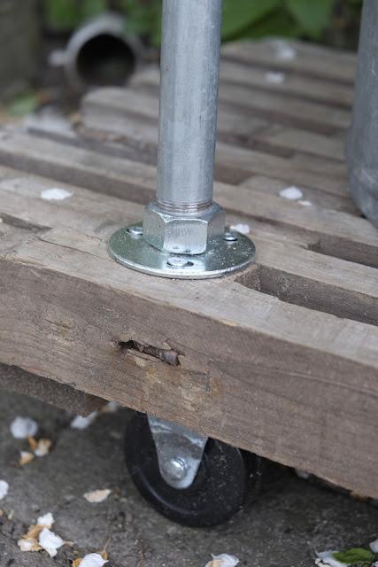 My loving home and garden: vores nye grillbord   hjemmelavet og ...