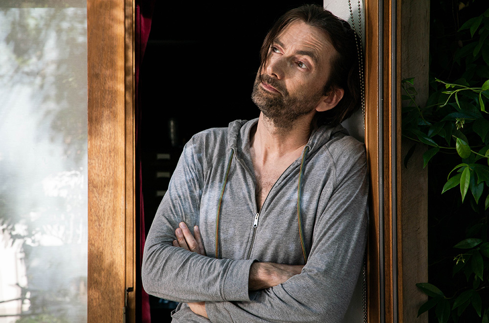 David Tennant on Staged