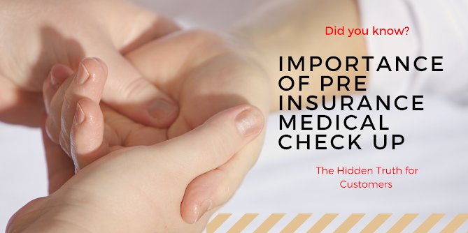 Importance of Pre Insurance Medical Check Up