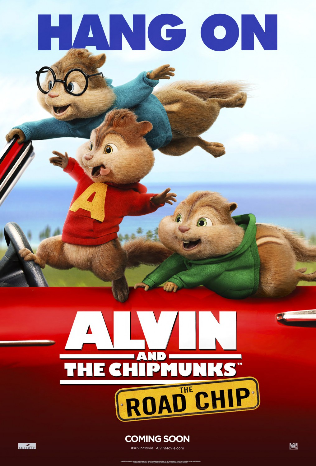 Nonton Film Alvin and the Chipmunks: The Road Chip (2015)