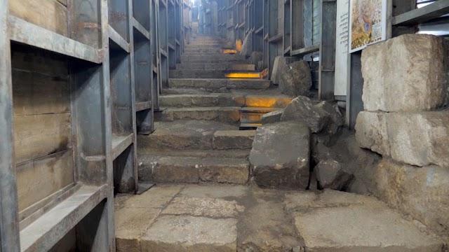 Descoberta na estrada de peregrinação de Jerusalém prova que foi construída pelo homem que crucificou Jesus