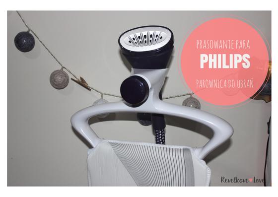 Prasowanie parą - Steamer PHILIPS ComfortTouch Plus