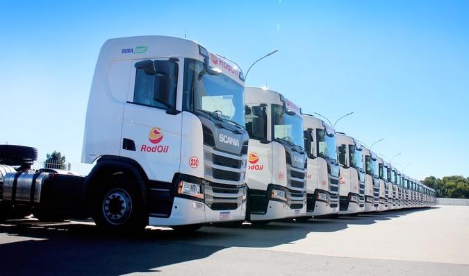 RodOil amplia frota com 25 novos caminhões Scania