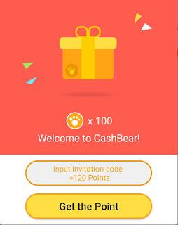 Cashbear Invite Code