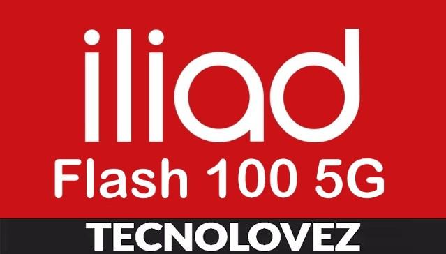Offerta iliad Flash 100 5G - Promozione con 100 GB, minuti e SMS illimitati a 9,99 euro al mese