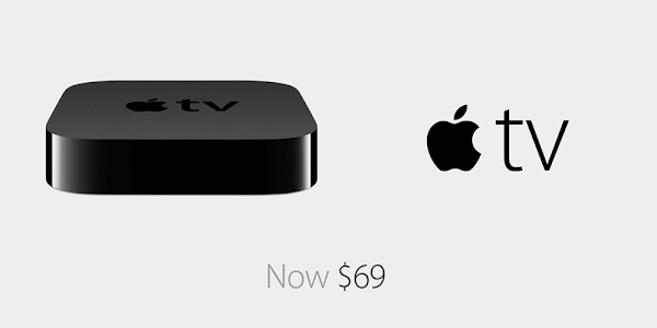 Apple TV now $69