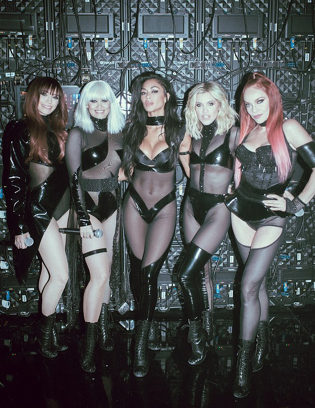 The Pussycat Dolls perform for first time in 10 years as they take on X Factor: Celebrity