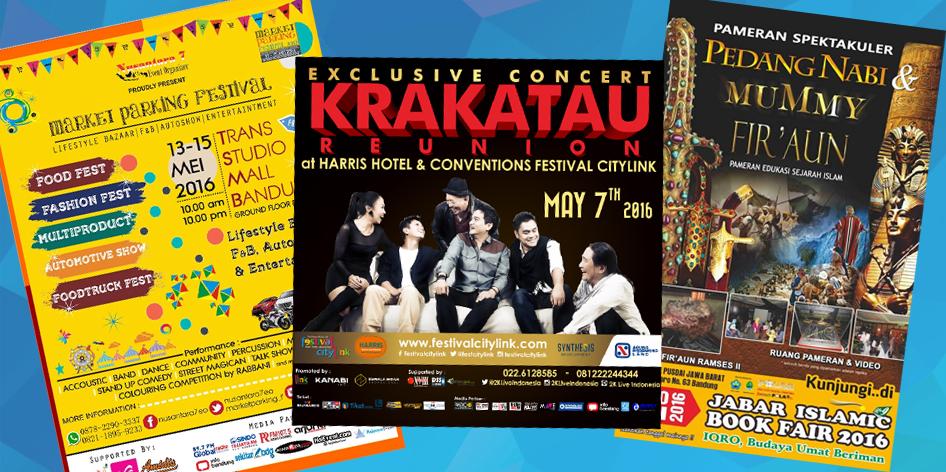 Jadwal Event Bandung Bulan Mei 2016