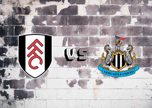 Fulham vs Newcastle United  Resumen