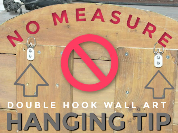 No Measure Tip For Hanging Art With Double Hooks