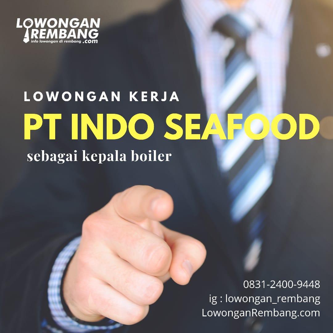 indo seafood - lowongan rembang