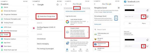 3 Cara Melihat Kata Sandi FB Di HP Android Yang Tersembunyi