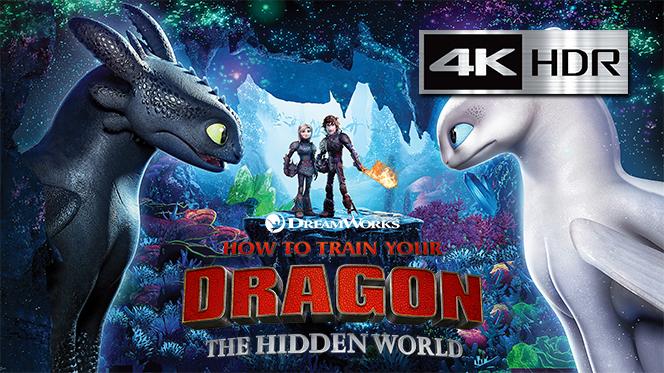 Cómo Entrenar a tu Dragón 3 (2019) 4K UHD [HDR] Latino-Castellano-Ingles