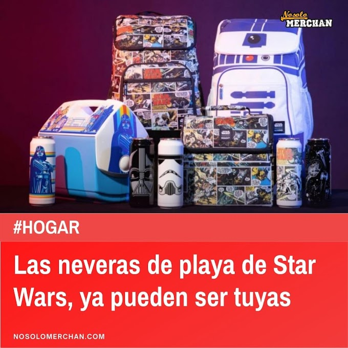Ya puedes hacerte con las neveras portátiles de Star Wars.