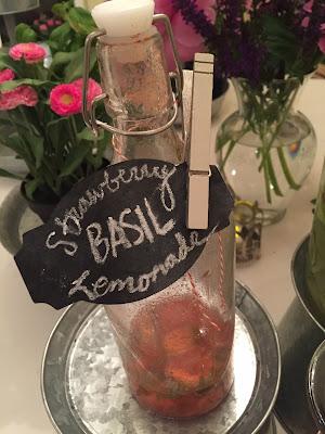 Strawberry basil lemonade- The Style Sisters