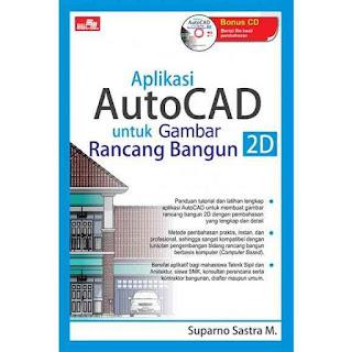 MENGGAMBAR RANCANG BANGUN 2D DENGAN AUTOCAD + CD